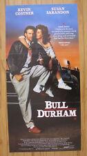 BULL DURHAM 1988 Australian daybill movie poster Kevin Costner baseball Sarandon