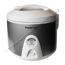 PANASONIC SR-TEM18 1.8L ELECTRIC RICE COOKER & STEAMER - CRYSTAL SILVER