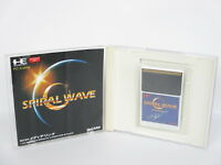 SPIRAL WAVE Ref/ccc PC-Engine Hu PCE Grafx Japan Game pe