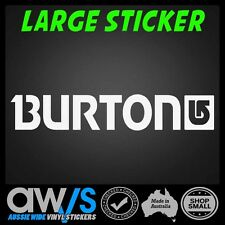Burton Sticker Decal Large For Car window Snowboard Snow Ski Skate Brand laptop