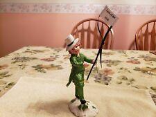 "KD Vintage Designs- St. Patrick's Day Figurine-""Luck Of The Irish"", Rare."