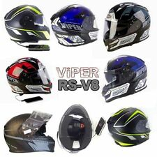 Viper Full Face Motorcycle Vehicle Helmets