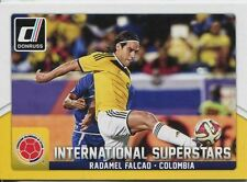 Donruss SOCCER 2015 INT. SUPERSTAR CHASE CARD # 41 RADAMEL FALCAO
