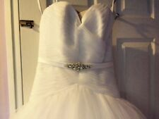 Ball Gown/Duchess Petite Sleeveless Wedding Dresses