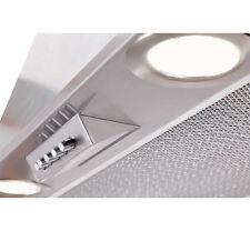 Lüfterbaustein Dunstabzugshaube Edelstahl 60cm LED Einbau Dunstabzug