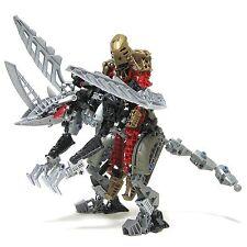 Lego 8811 Bionicle Metru Nui Toa Metru Toa Lhikan and Kihana complet de 2004