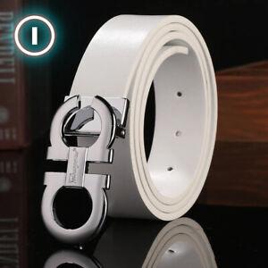2021 Men Luxury Gold Metal Buckle Belts Leather Fashion Belt for Jeans Designer