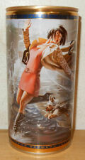 ZHIGULI # 26 Pin-up Cartoon Steel Beer can from RUSSIA (90cl) bottom opened