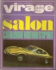 VIRAGE AUTO 1968 10 COUPE DES ALPES BMC OPEL GT GP ITALIE ALFA 1750 BMW 2002 R16