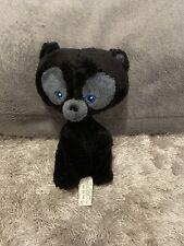 "Disney Pixar Brave Movie Black Bear Cub Plush Soft Toy Posh Paws 7"" approx VGC"