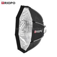 TRIOPO 65cm 8-Pole Octagon Studio Strobe Flash Light Softbox Cloth Bowens Mount