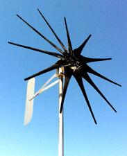 11 propeller wind turbine generator 1200 Watt High power/Easy spin 24 DC 2-phase