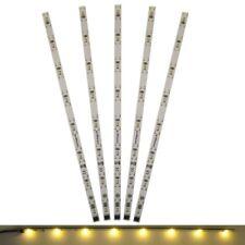 S029 - 5 Stück LED Innenbeleuchtung 230mm warmweiß Waggonbeleuchtung f. Waggons