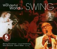 Wonderful World of Swing (BMG/AE, 2003) Count Basie, Earl Hines, Oscar .. [5 CD]