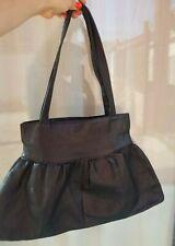 Large Columbian Leather Shoulder Strap Tote - Handbag Purse - Gorgeous EUC