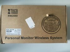 XTUGA RW2080 Personal Wireless in Ear Monitor System/2 Channel,4 Bodypack