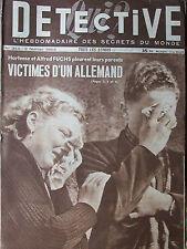 Détective n°344 (2/2/1953) H.et A; Fuchs - Lorient : pour sauver les marins
