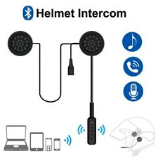 Wireless Bluetooth5.0 Motorcycle Motorbike Helmet Intercom Headset Handsfree MIC