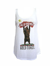 NEW VOLCOM CALI WOMENS CAMI TANK TOP T SHIRT TEE LOOSE FIT TUNIC BLOUSE SZ S