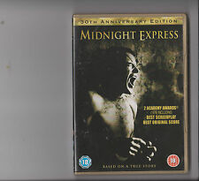 MIDNIGHT EXPRESS 30TH ANNIVERSARY EDITION DVD RATED 18 DRUGS TURKISH PRISON