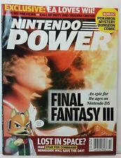 Nintendo Power Magazine 208 October 2006 Pokémon Comic + Lunar Knights Poster