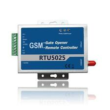 2G GSM Gate Door Opener Operator with SMS Remote Control 1 Out/2 In  RTU5025
