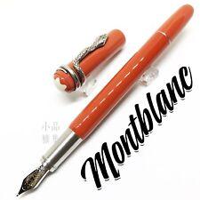 "Montblanc 110th Anniversary Edition ""Rouge et Noir"" Coral Fountain Pen"