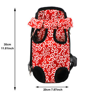 With Adjustable Strap Pet Chest Holder Travel Legs Out Dog Carrier Backpack