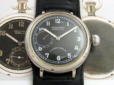 BUREN URENFABRIK - A. LUNSER BERLIN Wehrmaht WWII Vintage 1939-1945 Swiss Watch
