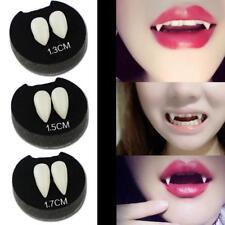 Halloween Cosplay Vampire Dracula Fangs Caps Fake Teeth Fancy Dress Costume