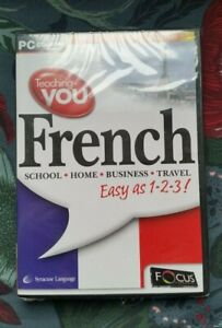 FOCUS Teaching You French (Easy 1,2,3 2nd Edition) *BRAND NEW & SEALED* 95 98 XP