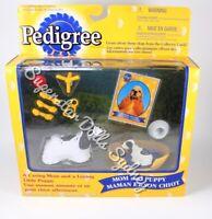 1998 Pedigree Cocker Spaniel Mom & Puppy Figurine Gift Pack for Barbie Dolls