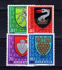 SUISSE SWITZERLAND Yvert  n° 1096/1099 neuf sans charnière MNH