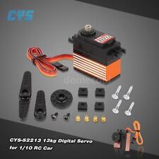 CYS-S2213 13kg Titanium Gear Digital 60° HV Servo for 1/10 RC Car A8P0
