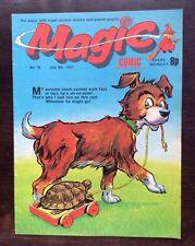 MAGIC COMIC NO.76. 9 JULY 1977 With KORKY THE CAT'S NEPHEW COPYCAT. VF+