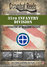 35th Infantry Division WWII Combat DVD Western Europe