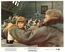 The Red Tent original lobby card Claudia Cardinale in mess hall