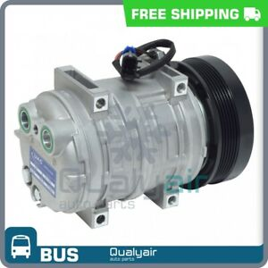 AC Compressor fits Blue Bird All American FE, All American RE, Commercial ... QU