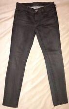 KORAL Women's Jeans Skinny Stretch Los Angeles LA USA Gray Dark Grey 28