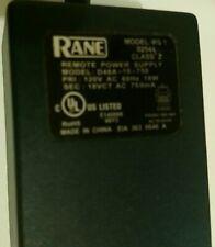 Rane RS-1 USA 110v Genuine power supply - Very hard to find.