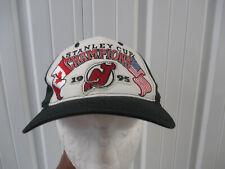 VINTAGE STARTER 1995 NHL STANLEY CUP CHAMPIONS NEW JERSEY DEVILS CAP HAT SNAPBAC