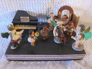 ENGEL KAPELLE ORCHESTER MIT PIANO AUF PODEST - 1968 - ERZGEBIRGE