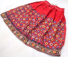 Ethnic Banjara Tribal Boho Gypsy Embroidery India Rabari Kuchi Belly Dance Skirt