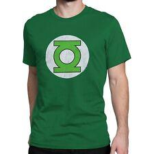 Green Lantern Symbol Distressed T-Shirt Green