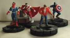 HeroClix Extras Lot: Captain America and SHIELD (Marvel) - Dum Dum Dugan, Quake
