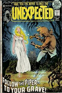 THE UNEXPECTED #127  DC 1971 - Nick Cardy & George Tuska Art