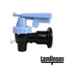 Tomlinson Water Cooler Faucet Spigot Dispenser Valve Blue Safety Lock Sunbeam