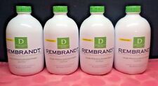 4 x Rembrandt Deeply Whitens & Restored Enamel Fresh Mint Mouthwash 16 fl oz ea
