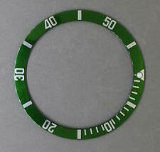Green Bezel Insert to fit Seiko 6105, 6306, 6309, 7002 & SKX007 divers watch