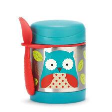 Skip Hop Baby Zoo Insulated Food Jar Spork Set Owl